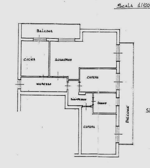 Planimetria 1/2 per rif. 100291