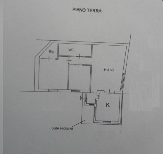 Planimetria 1/1 per rif. 300763