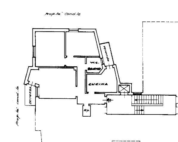 Planimetria 1/1 per rif. 400381