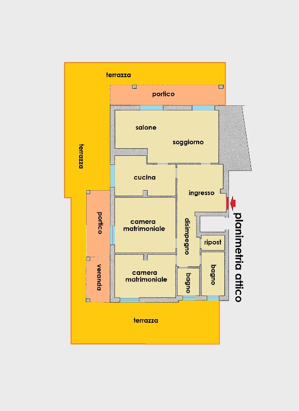 Planimetria 1/1 per rif. 400386