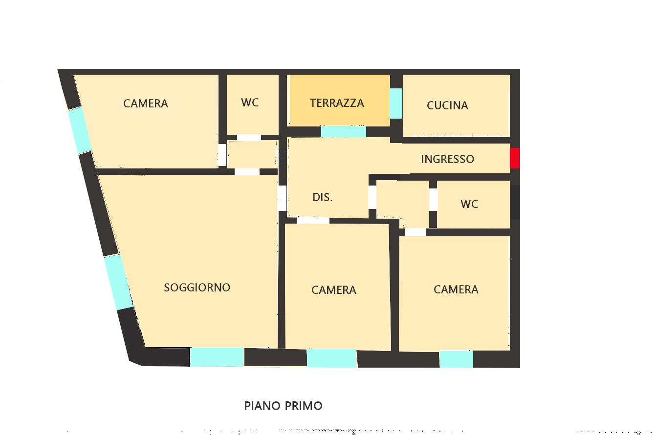 Planimetria 1/1 per rif. 400431