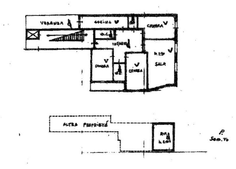 Planimetria 1/1 per rif. 400432