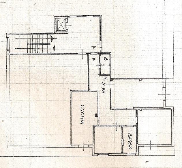 Planimetria 1/1 per rif. B/317