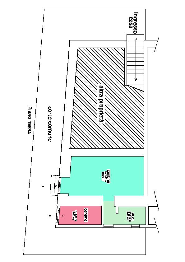 Planimetria 1/3 per rif. L/151