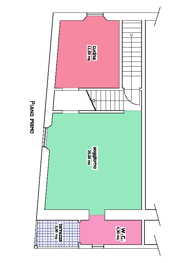 Planimetria 3/3 per rif. L/151