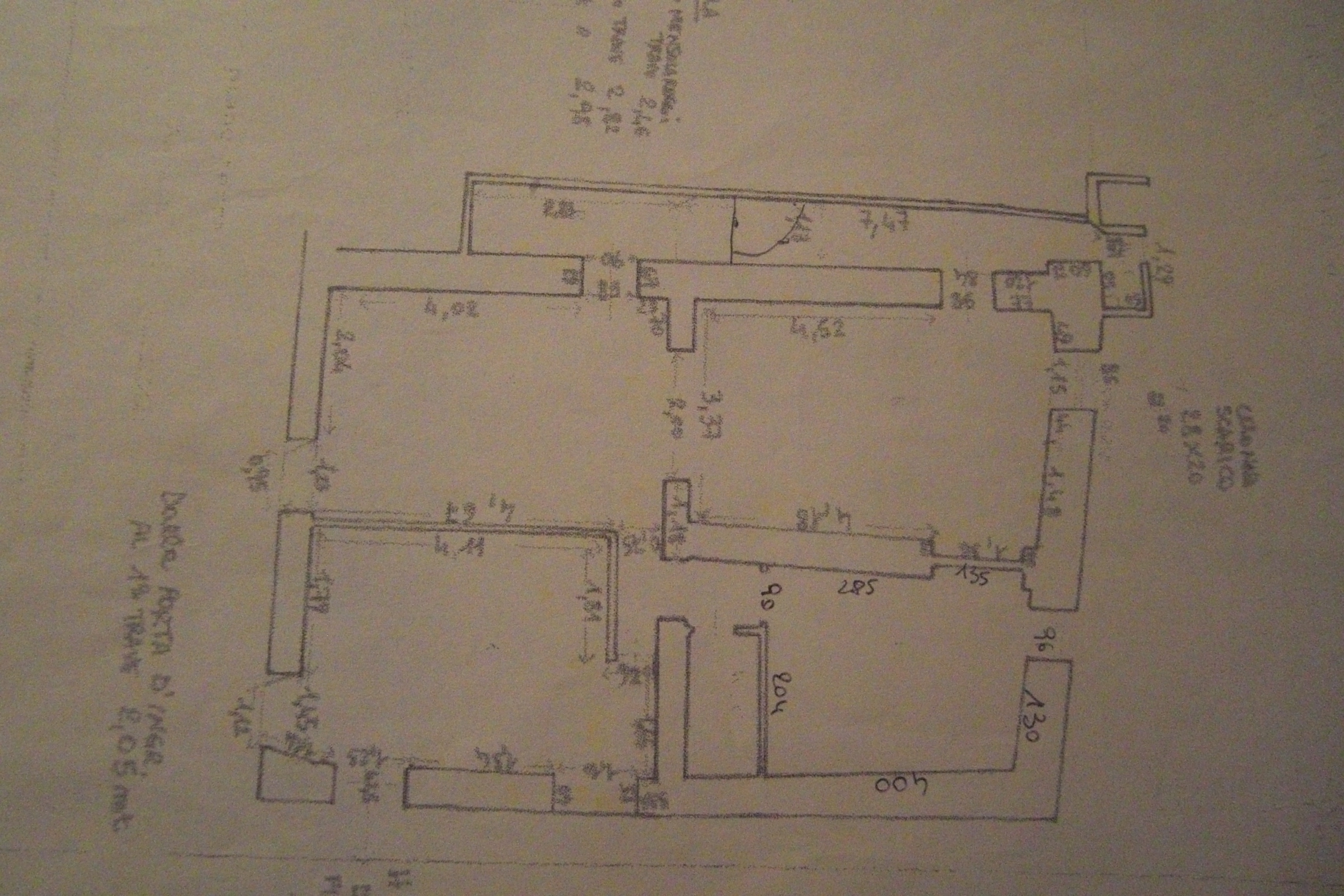 Planimetria 1/1 per rif. 2877