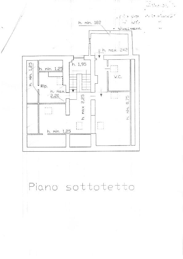 Planimetria 2/2 per rif. 2903