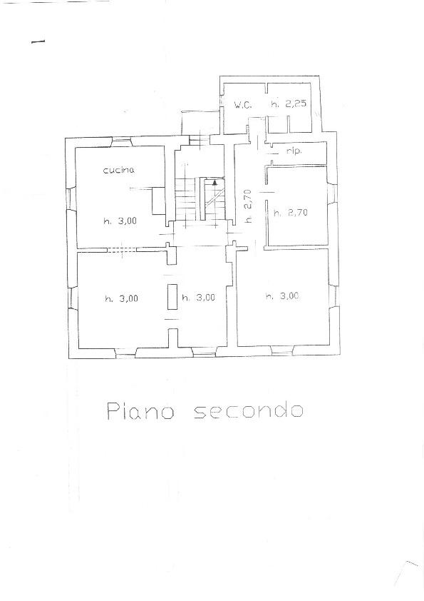 Planimetria 1/2 per rif. 2903