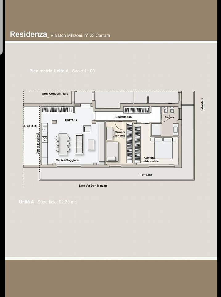 Planimetria 1/1 per rif. 2911