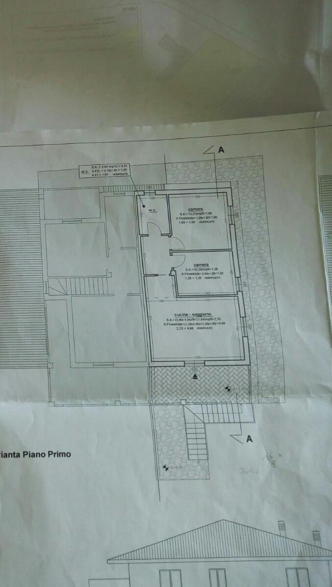 Planimetria 1/1 per rif. 2985