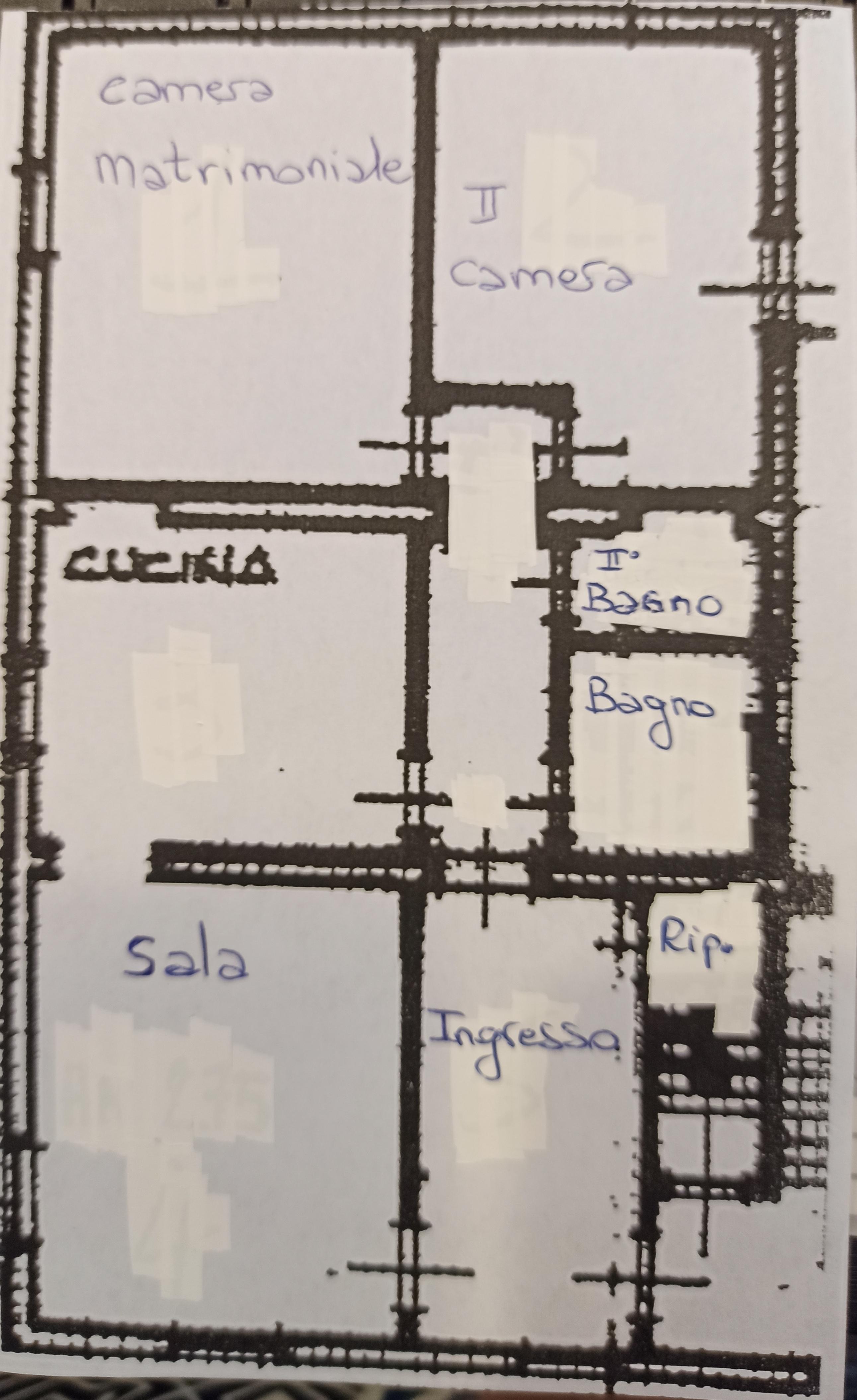 Planimetria 1/1 per rif. 3146