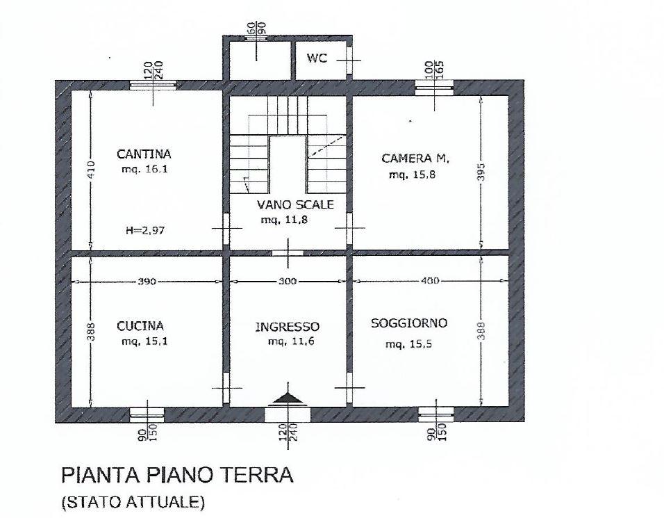 Planimetria 1/2 per rif. 344