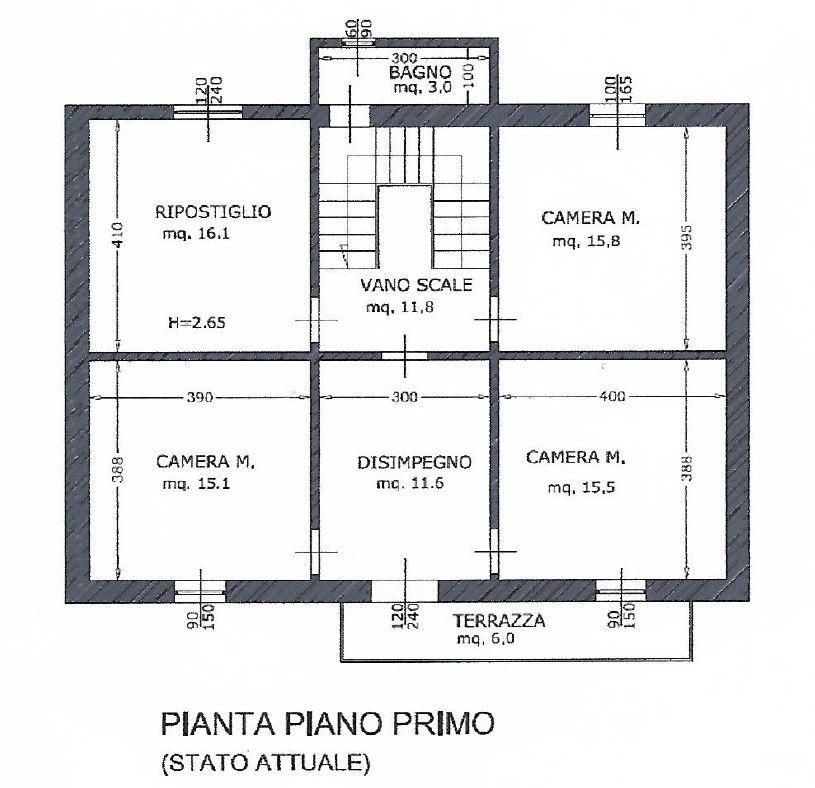 Planimetria 2/2 per rif. 344