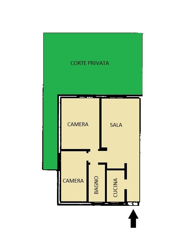 Appartamento in vendita, rif. 596 (Planimetria 1/1)