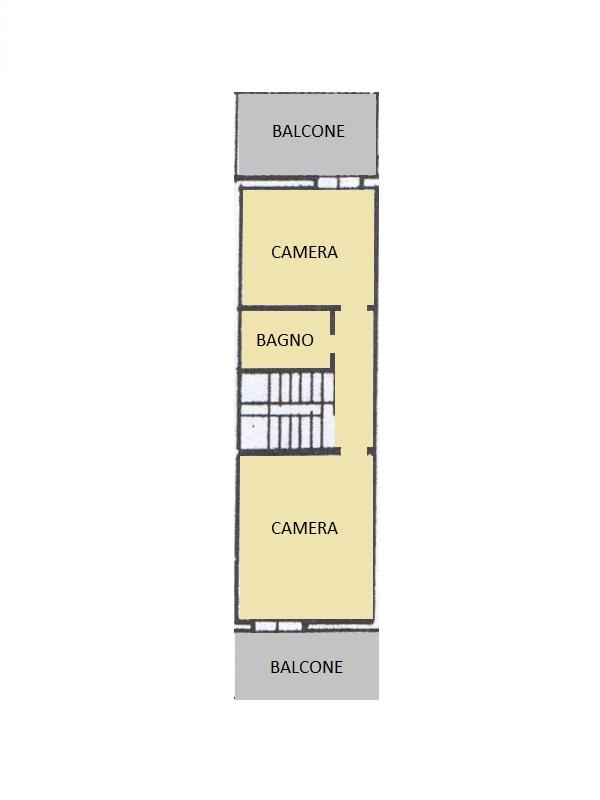 Villetta a schiera in vendita, rif. 95 (Planimetria 2/2)