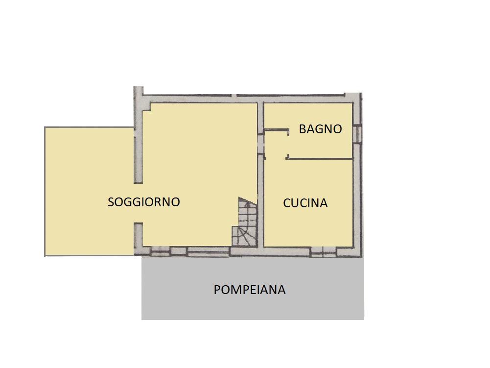 Villetta bifamiliare in vendita, rif. 570 (Planimetria 1/3)