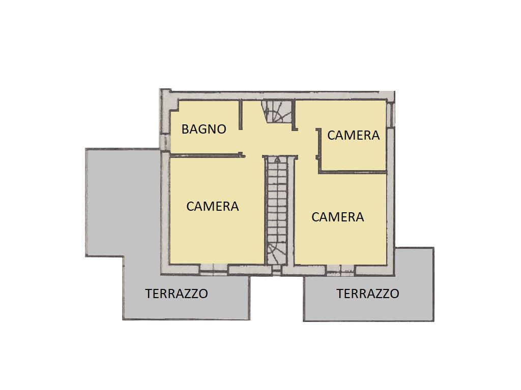 Villetta bifamiliare in vendita, rif. 570 (Planimetria 2/3)