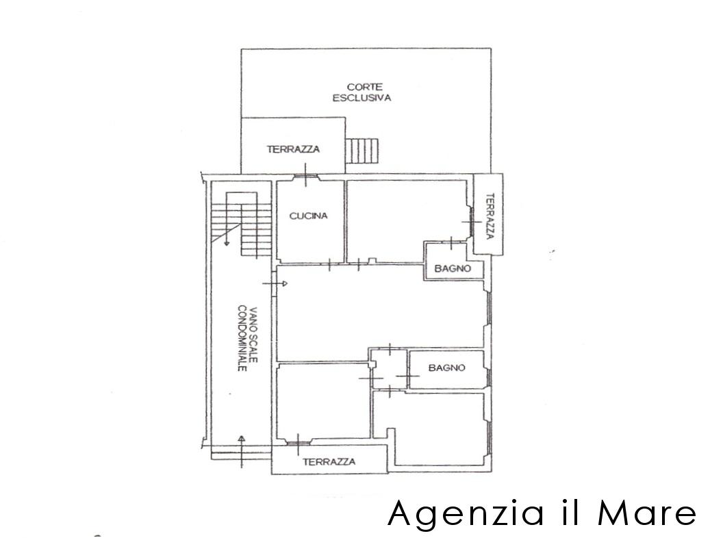 Appartamento in vendita, rif. 529 (Planimetria 1/1)