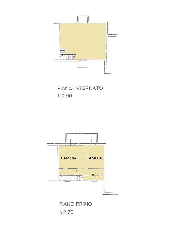 Villetta a schiera in vendita, rif. 516 (Planimetria 2/2)