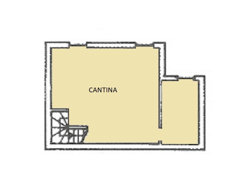 Villetta a schiera in vendita, rif. 14 (Planimetria 3/3)