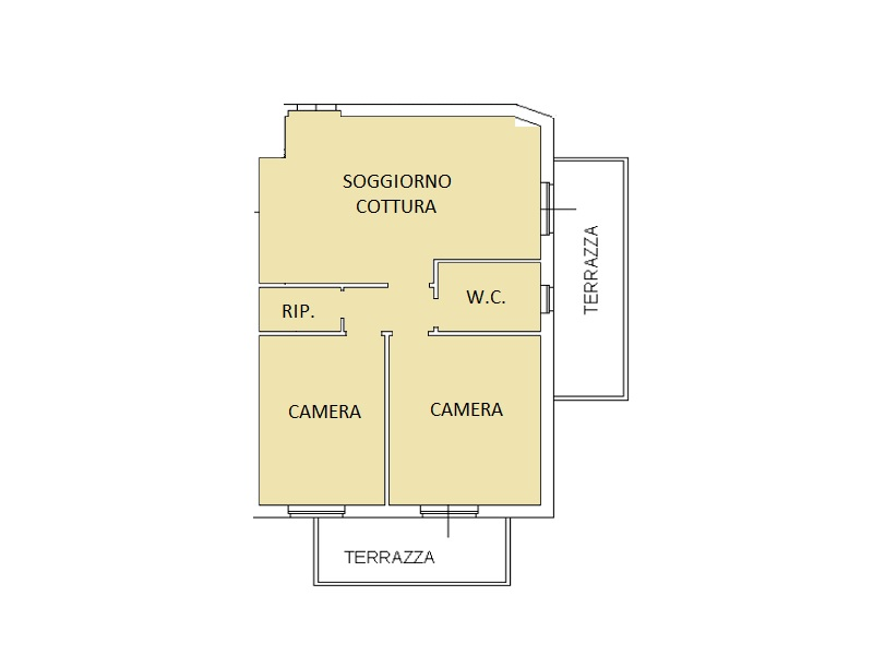 Planimetria 1/1 per rif. LOG-379