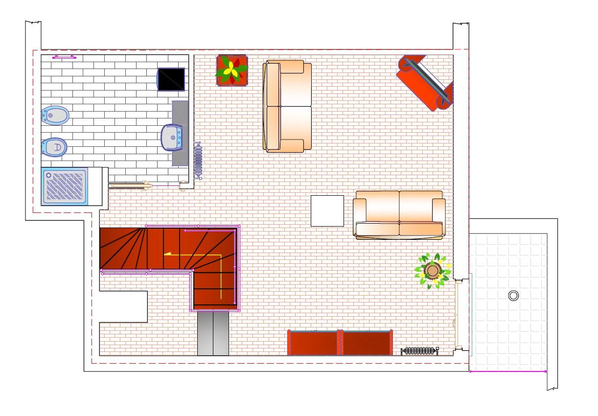 Appartamento in vendita, rif. 574 (Planimetria 2/2)
