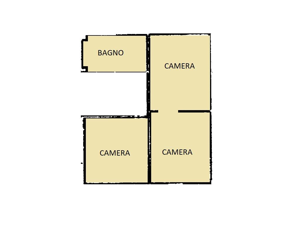 Appartamento in vendita, rif. 402 (Planimetria 2/2)