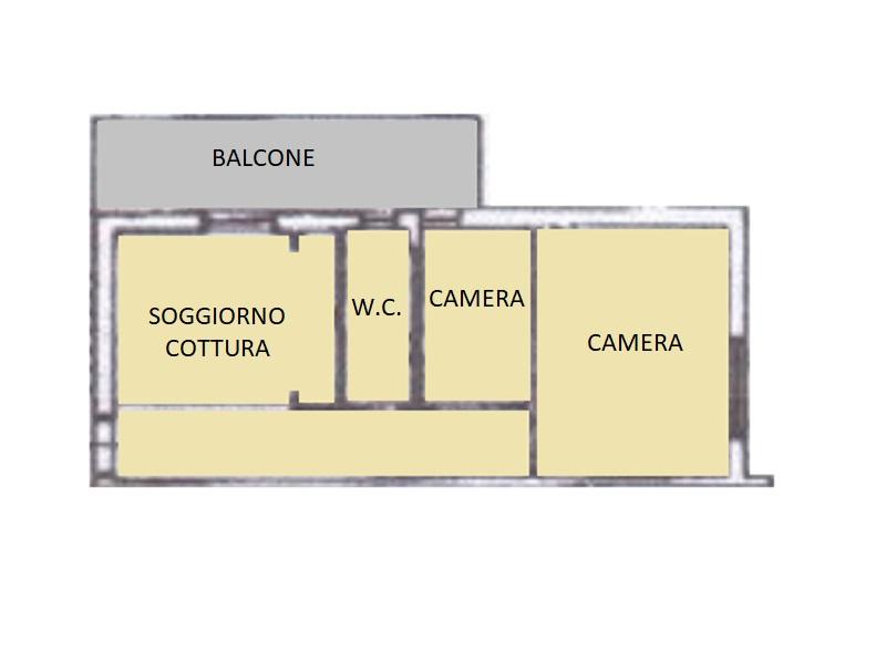 Appartamento in vendita, rif. 499 (Planimetria 1/1)