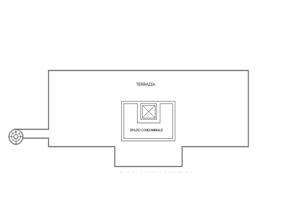 Attico in vendita, rif. 335 (Planimetria 2/2)