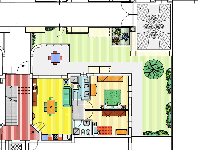 Appartamento in vendita, rif. 57 (Planimetria 1/2)