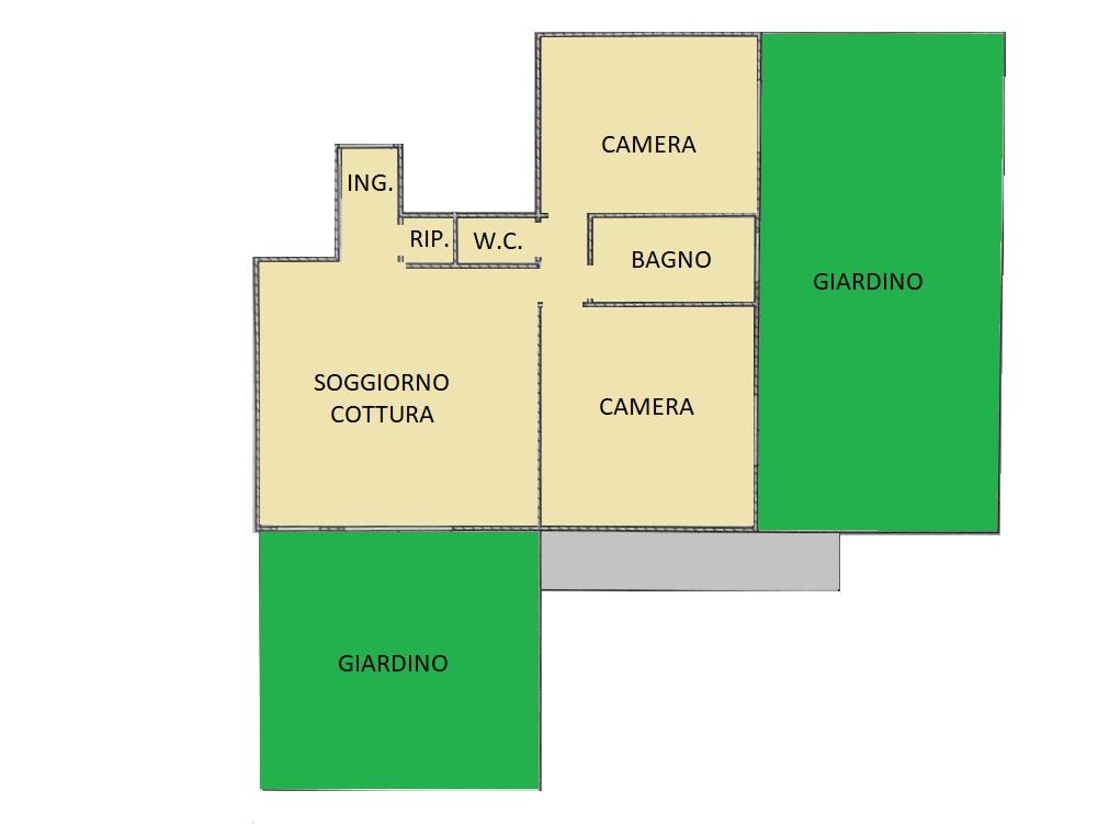 Appartamento in vendita, rif. 176 (Planimetria 1/1)