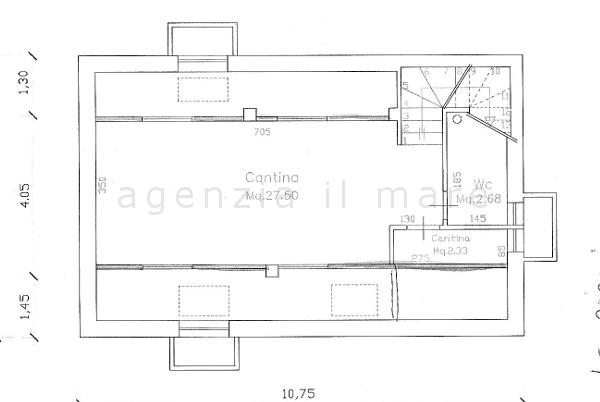 Villa singola in vendita, rif. 237 (Planimetria 3/3)