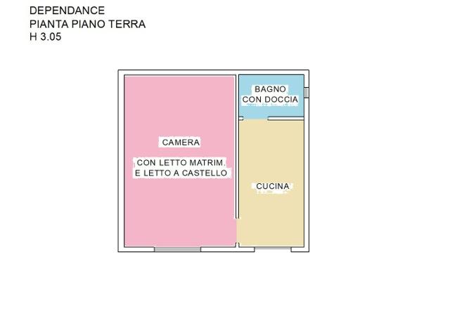 Casa singola in vendita, rif. 586 (Planimetria 3/3)