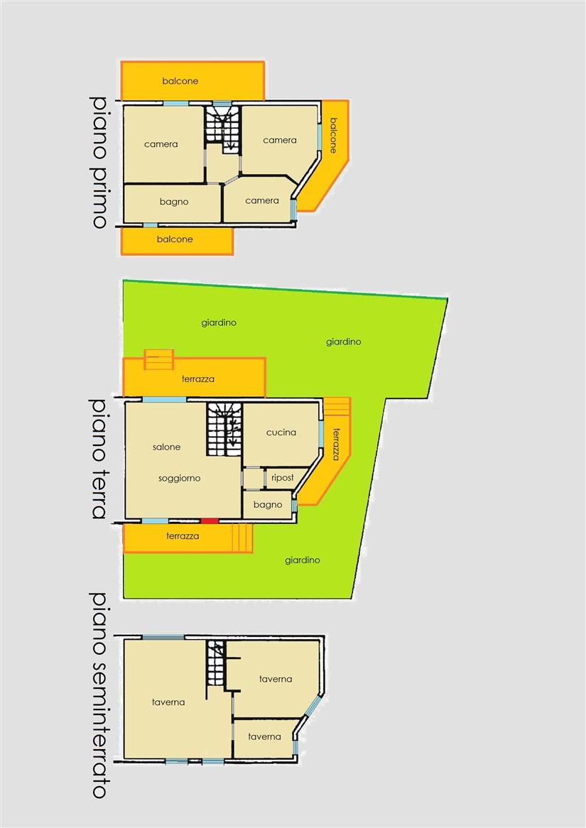 Planimetria 1/1 per rif. 514