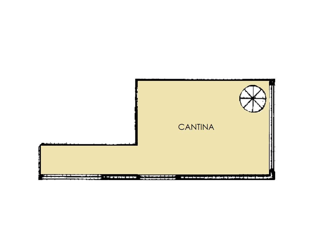 Villetta a schiera in vendita, rif. 420 (Planimetria 3/3)