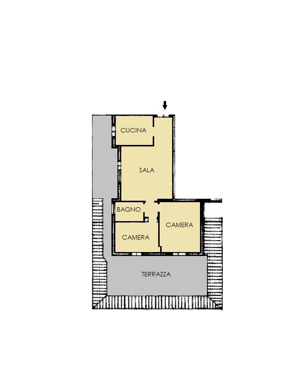 Appartamento in vendita, rif. 296 (Planimetria 1/1)