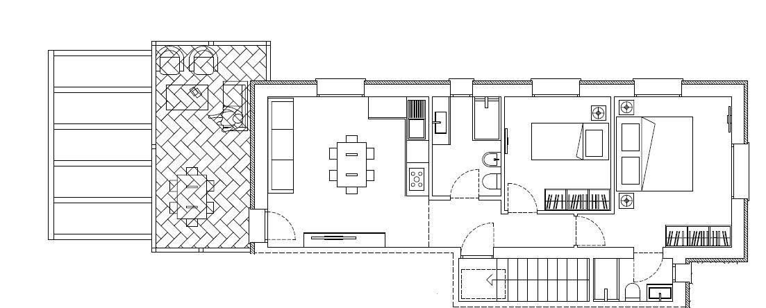 Appartamento in vendita, rif. 211 (Planimetria 1/1)