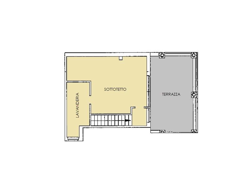 Appartamento in vendita, rif. 480 (Planimetria 2/2)
