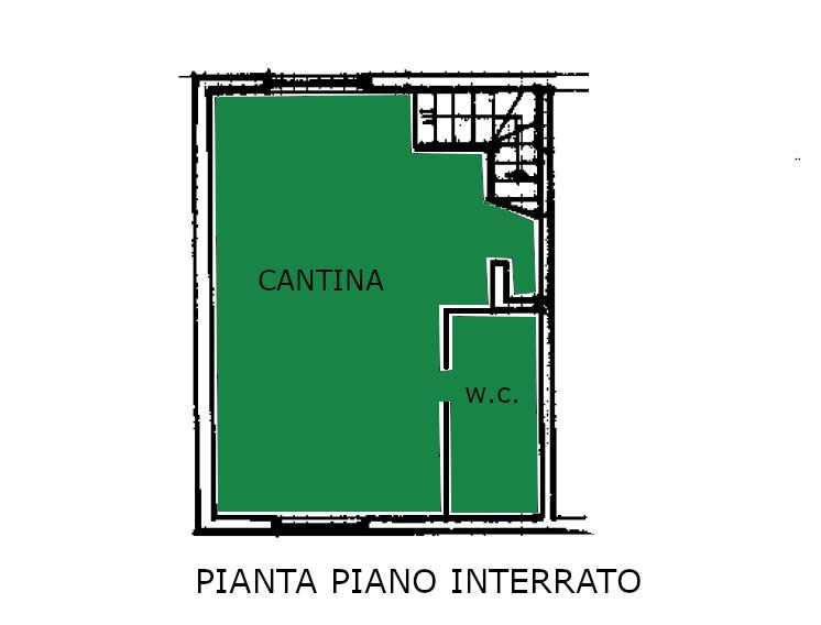 Appartamento in vendita, rif. 600 (Planimetria 2/2)