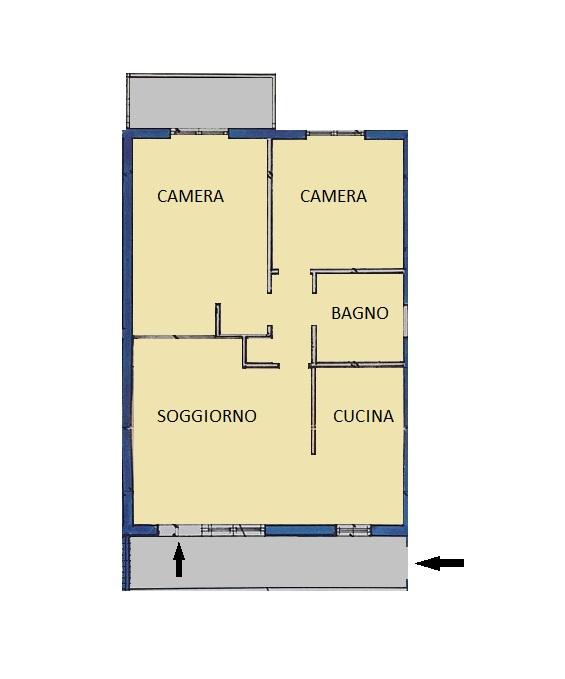 Appartamento in vendita, rif. 112 (Planimetria 1/1)