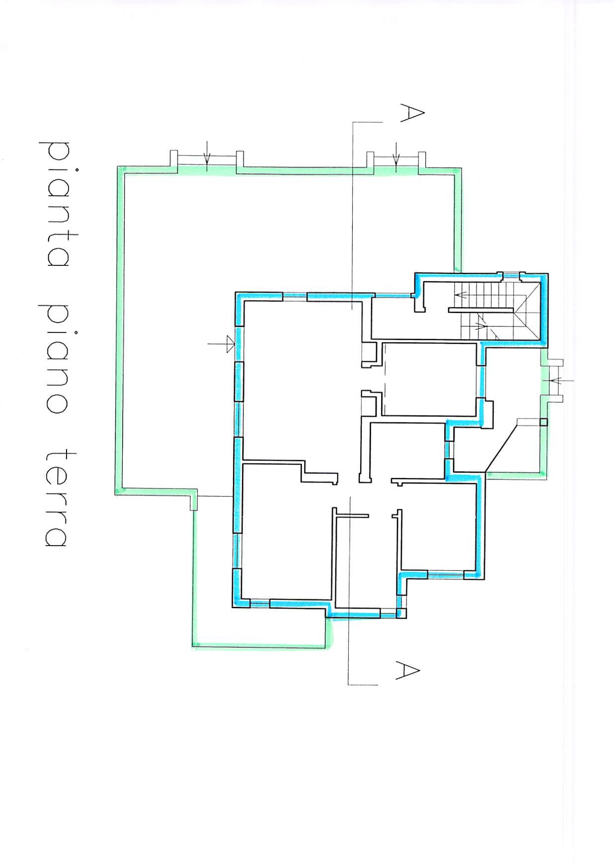 Planimetria 3/5 per rif. B346