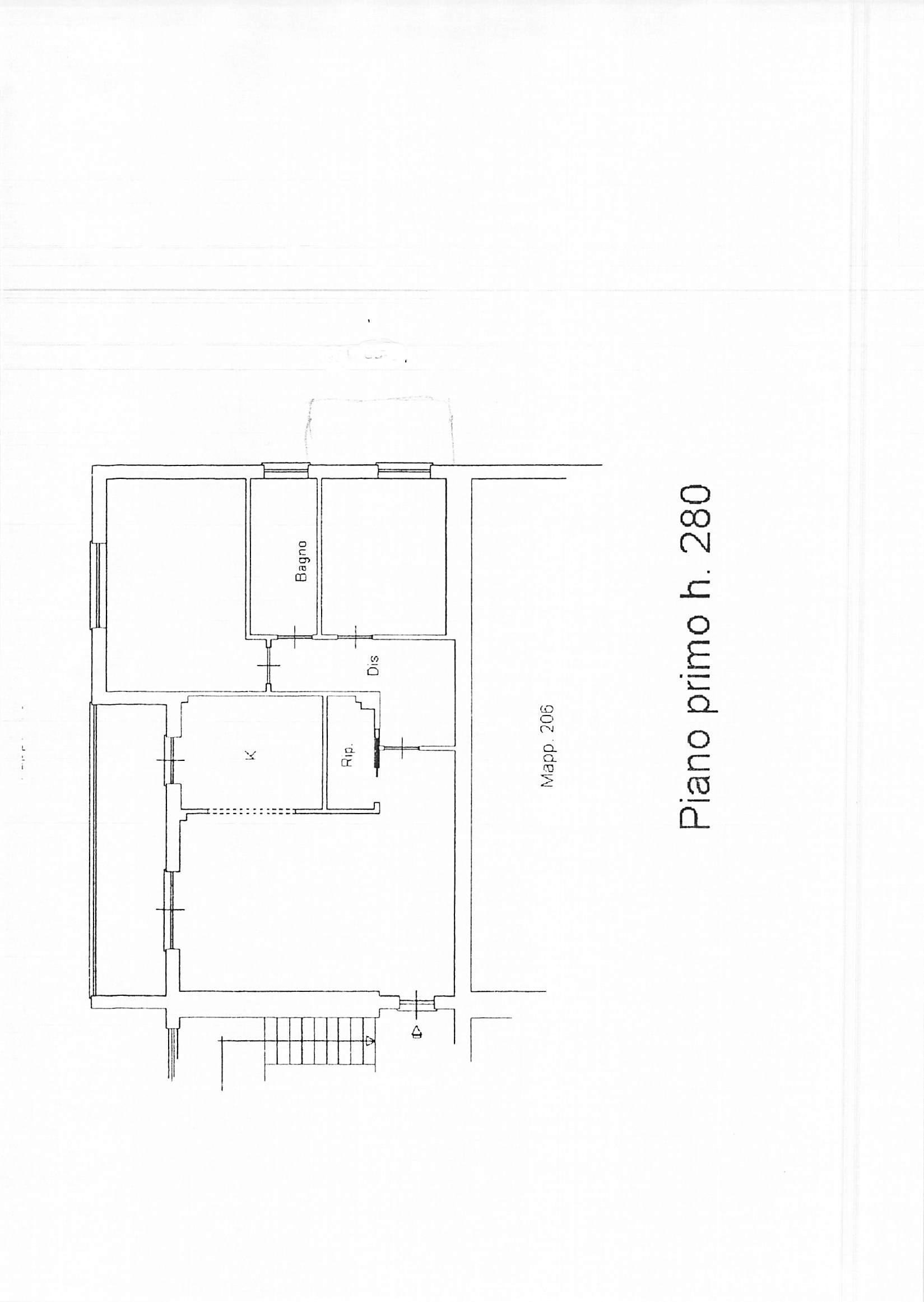 Planimetria 1/1 per rif. B75