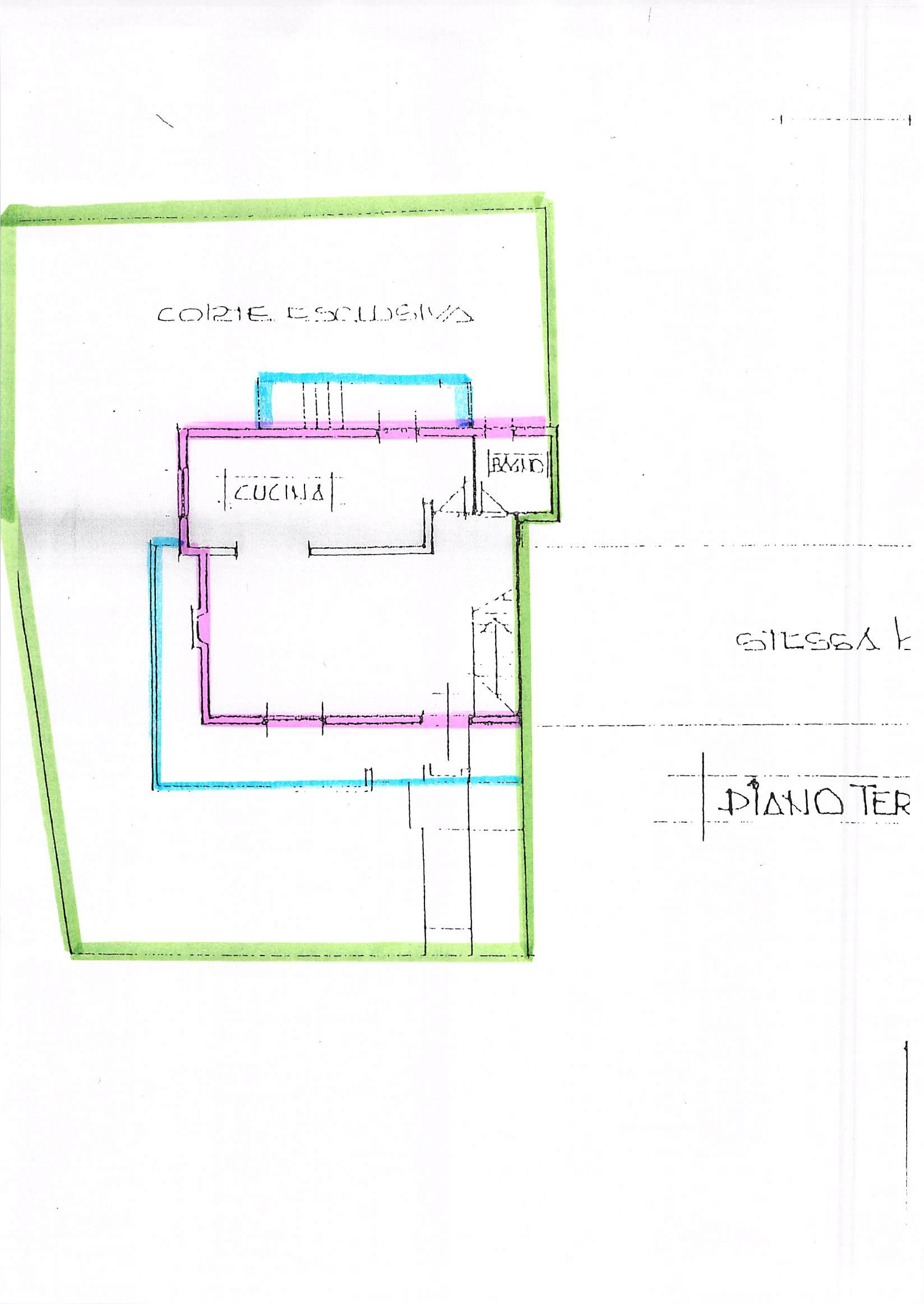 Planimetria 1/2 per rif. B83