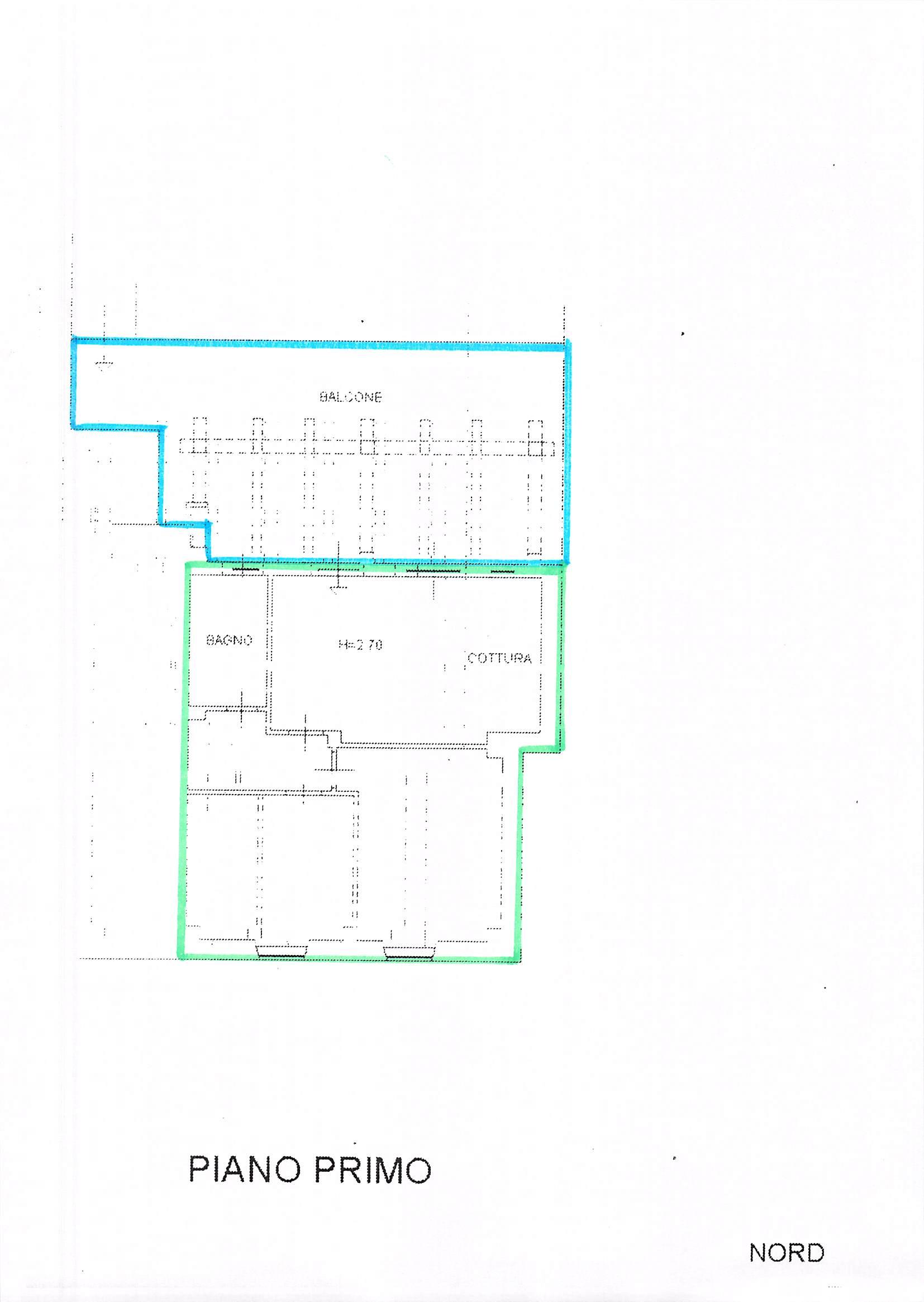 Planimetria 1/1 per rif. B117