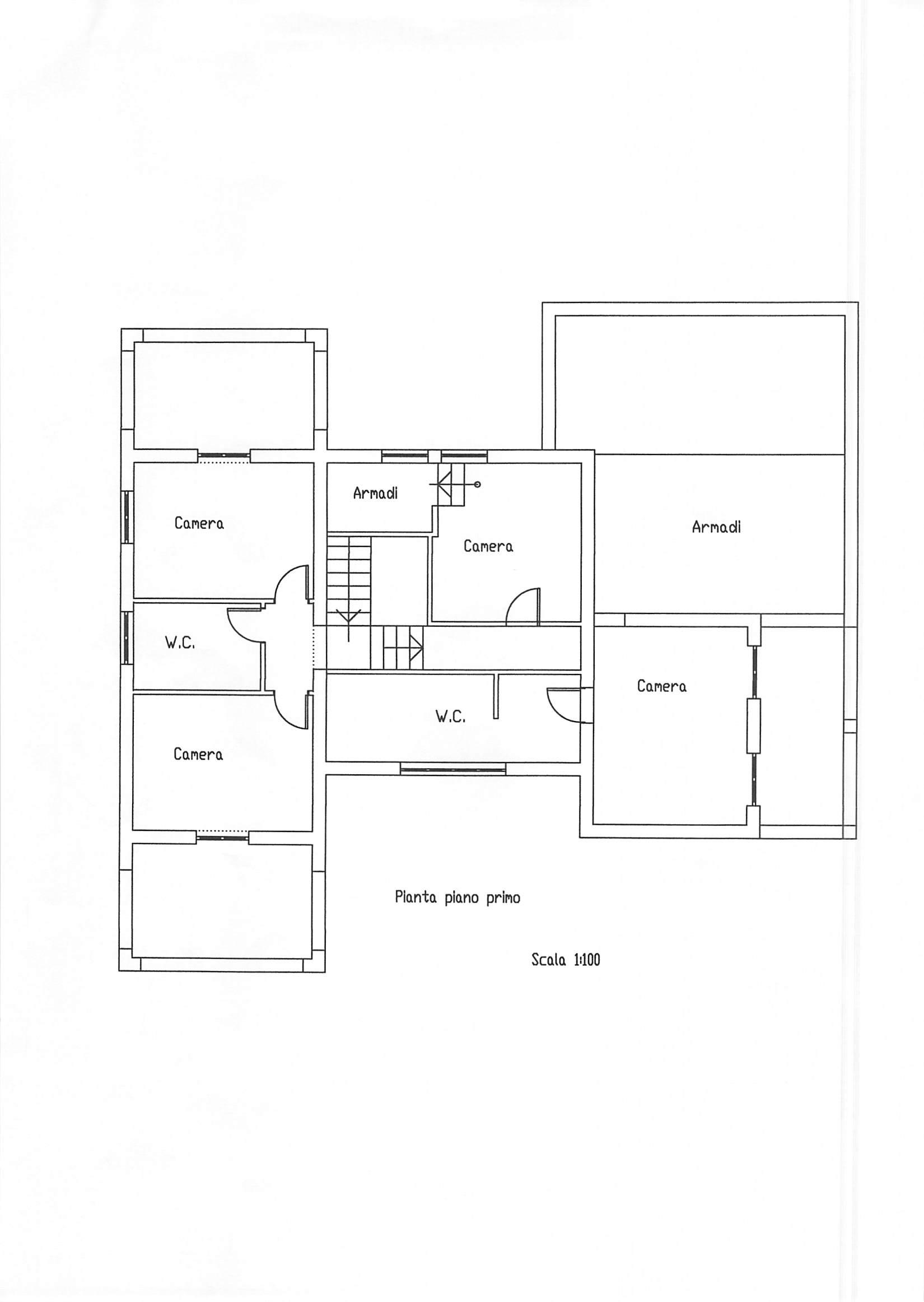 Planimetria 1/3 per rif. A125
