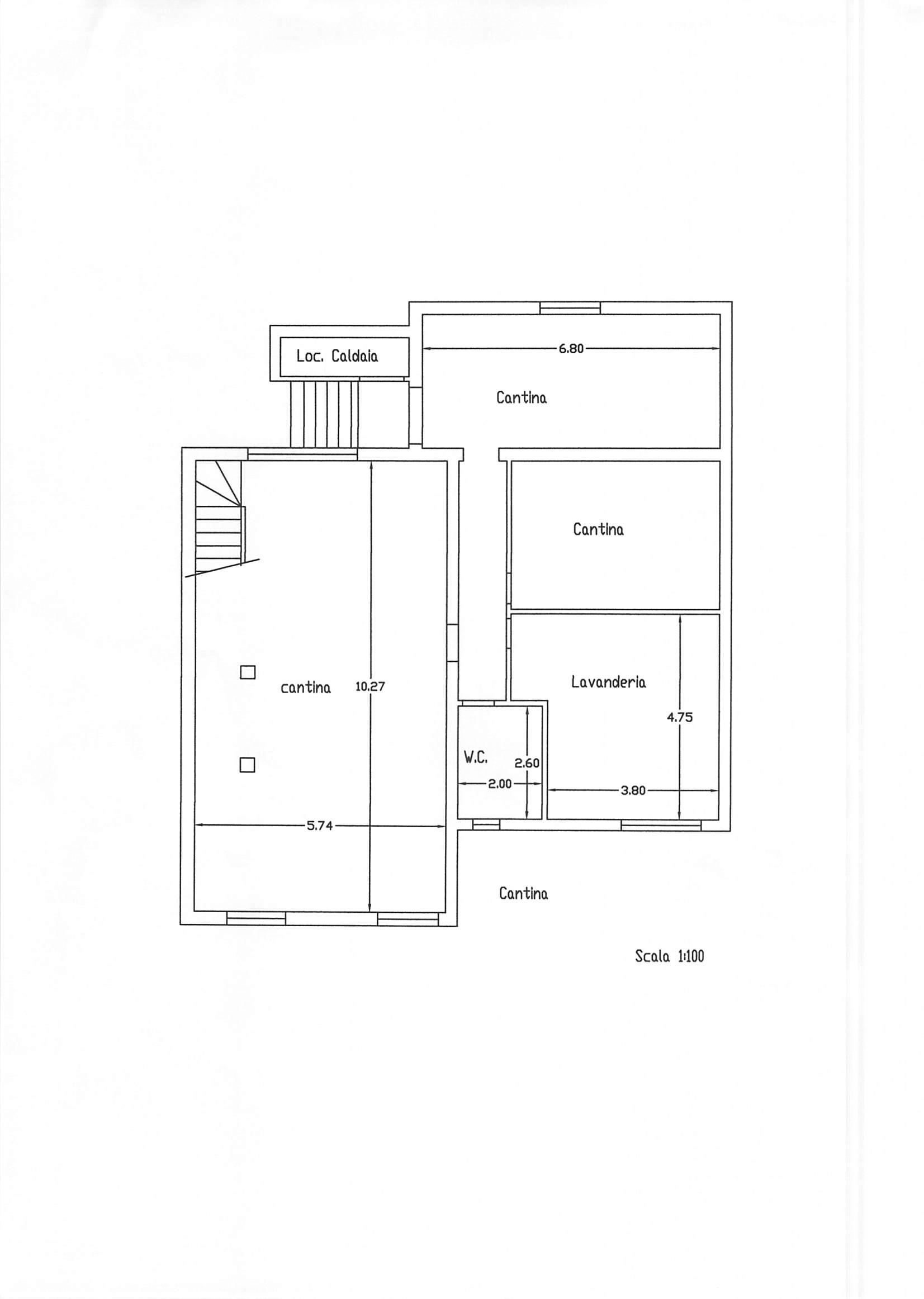 Planimetria 3/3 per rif. A125