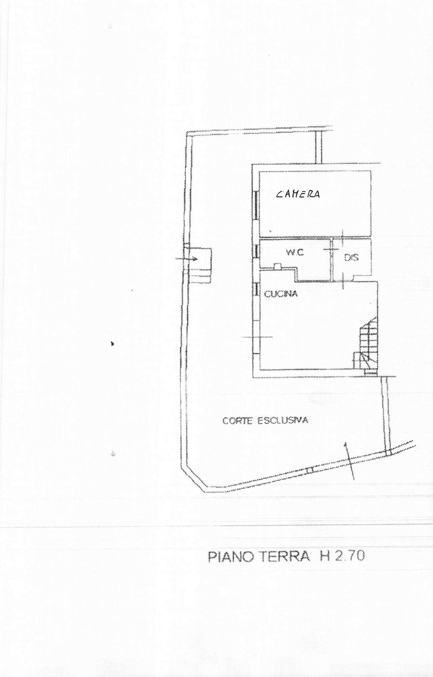 Planimetria 1/2 per rif. B191