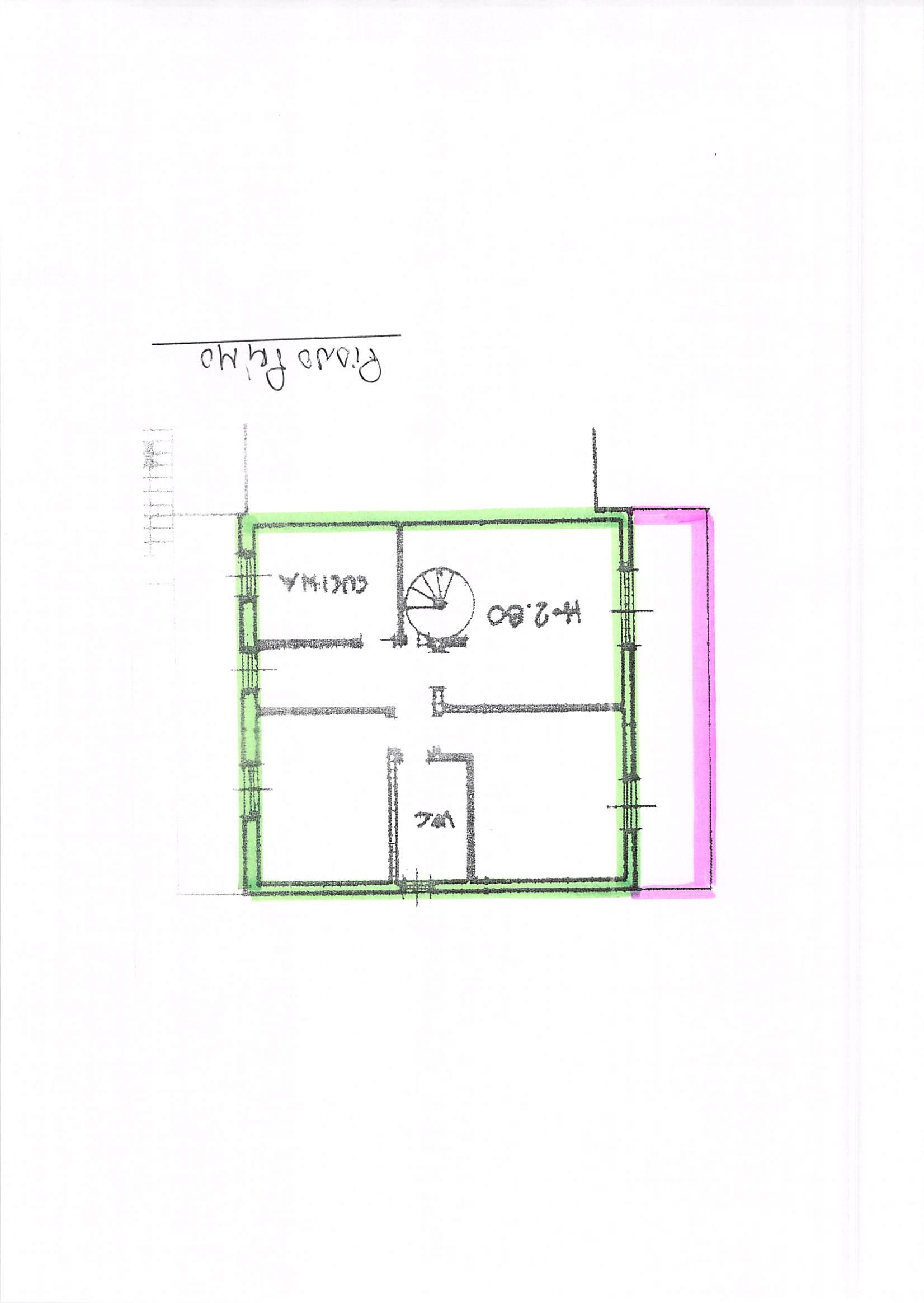 Planimetria 1/2 per rif. B212