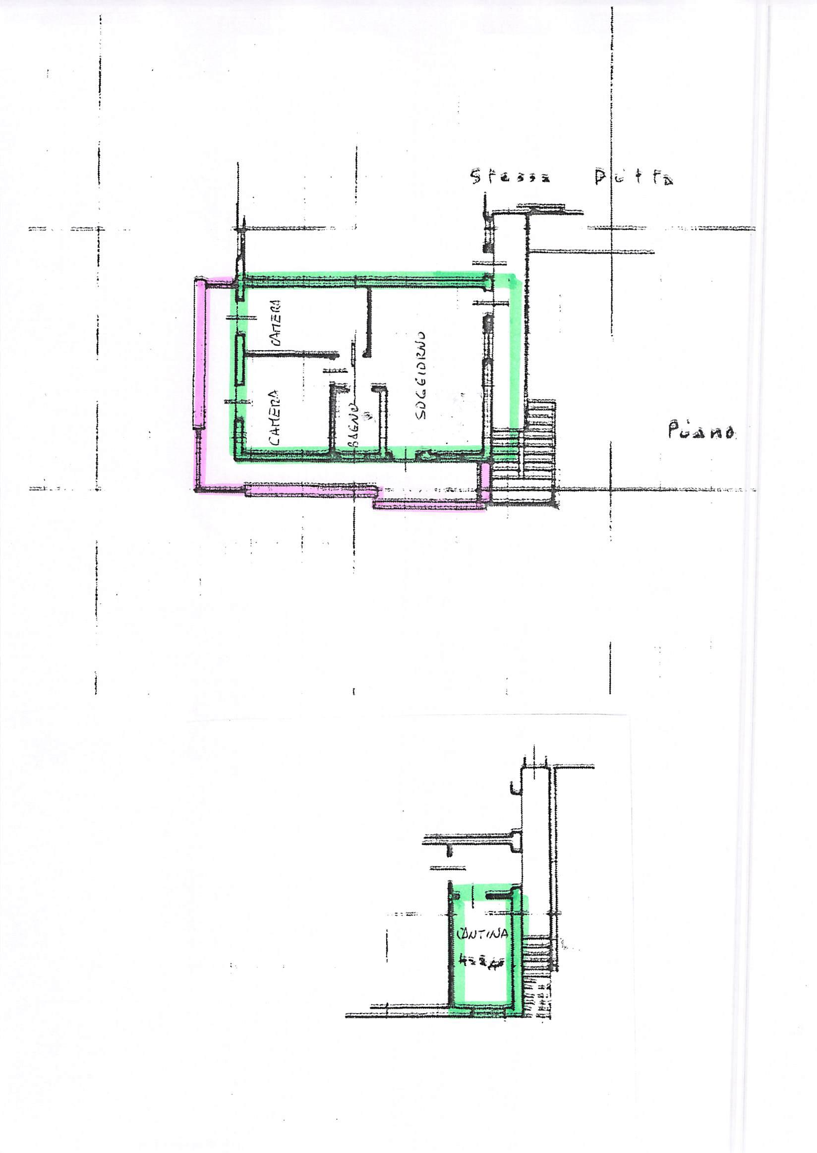 Planimetria 1/1 per rif. B216