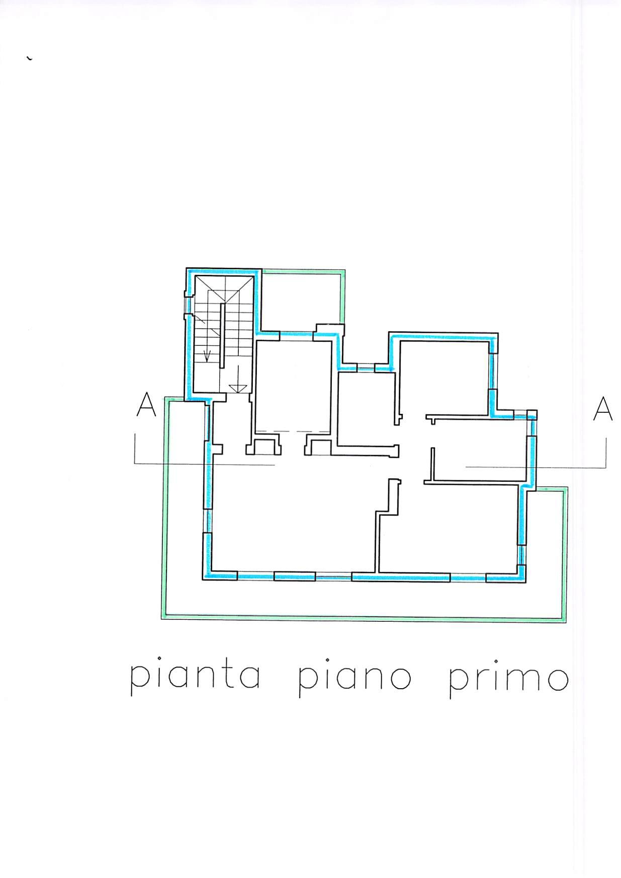 Planimetria 3/5 per rif. B231